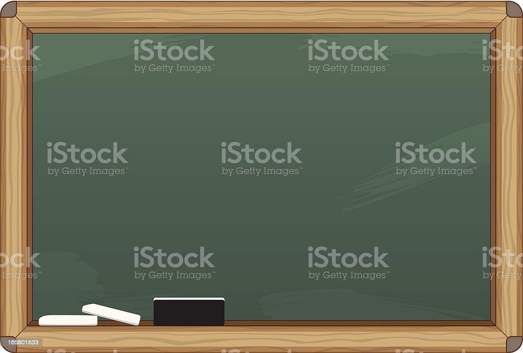 Chalkboard Canvas royalty-free stock vector art
