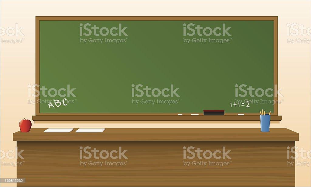Chalkboard royalty-free stock vector art