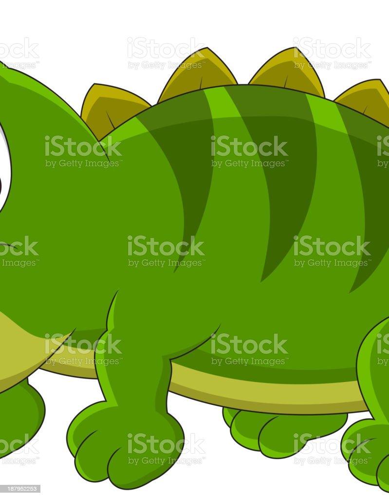 Chameleon cartoon royalty-free stock vector art