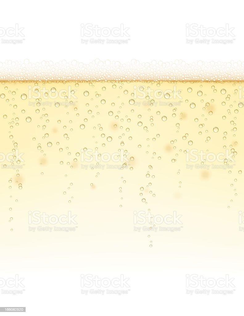 Champagne Background vector art illustration