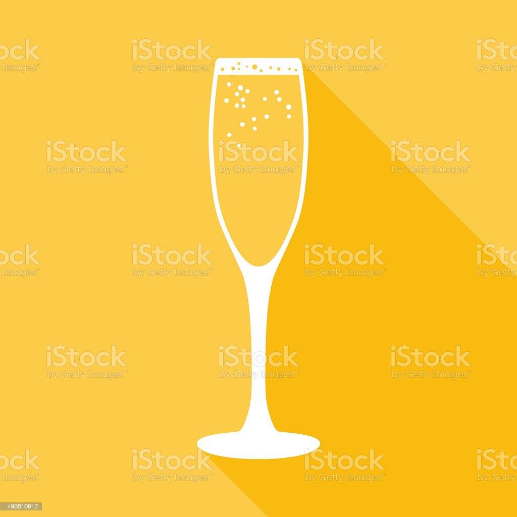Champagne Icon vector art illustration