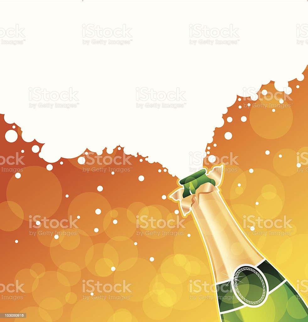 Champagne royalty-free stock vector art
