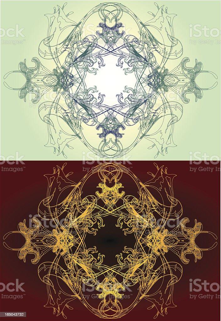Gesang-Heilige Geometrie-Serie Lizenzfreies vektor illustration