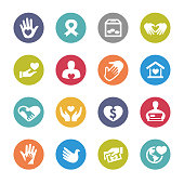 Charity Icons - Circle Series