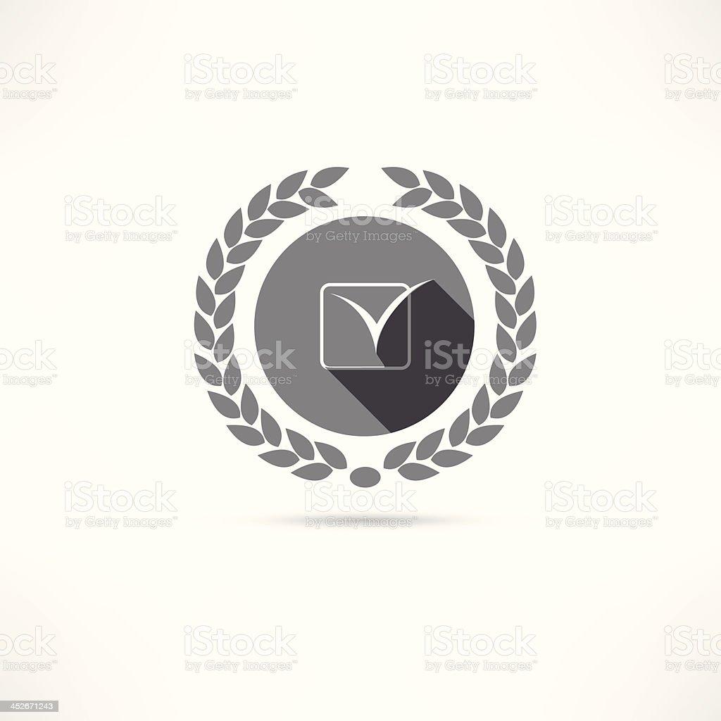 check icon royalty-free stock vector art
