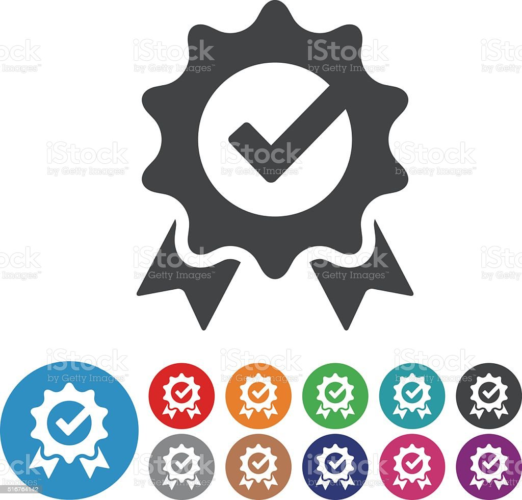 Check Mark Icons - Graphic Icon Series vector art illustration
