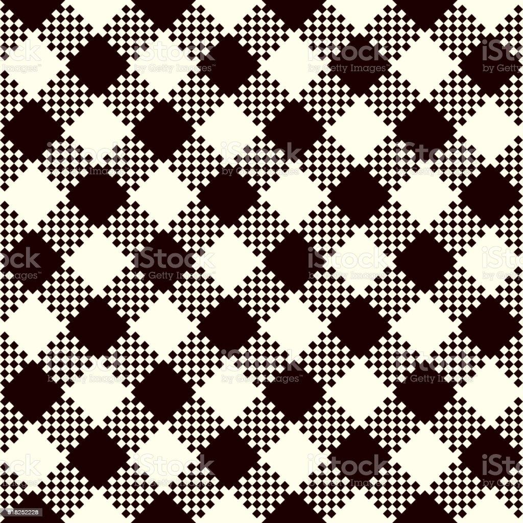 Check Plaid Patterns vector art illustration