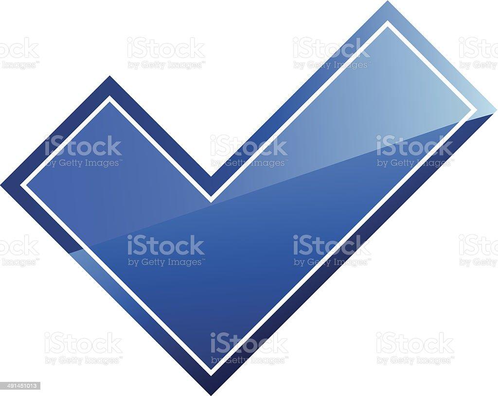 Check sign royalty-free stock vector art