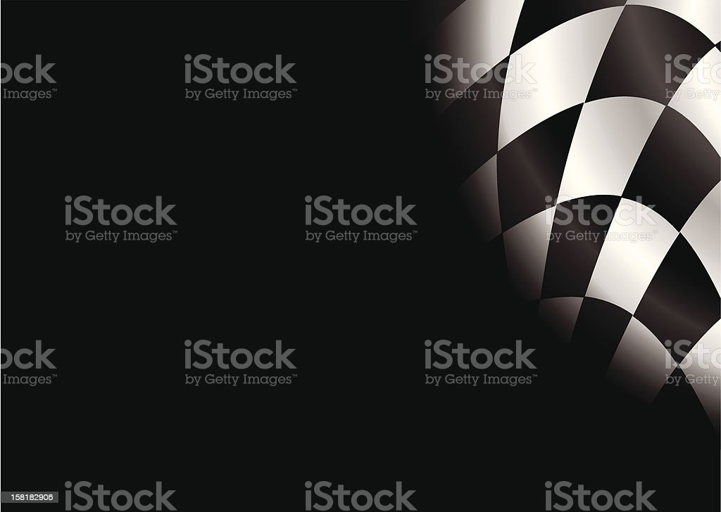 checkered blank royalty-free stock vector art