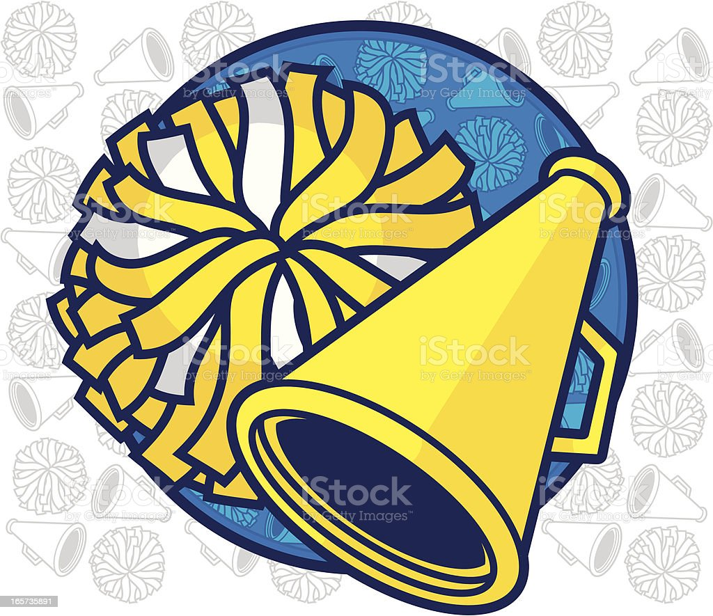Cheer Leading Design royalty-free stock vector art
