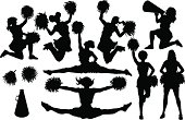 Cheer Silhouettes