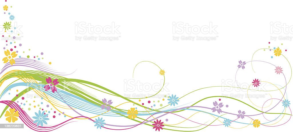 cheerful lines royalty-free stock vector art
