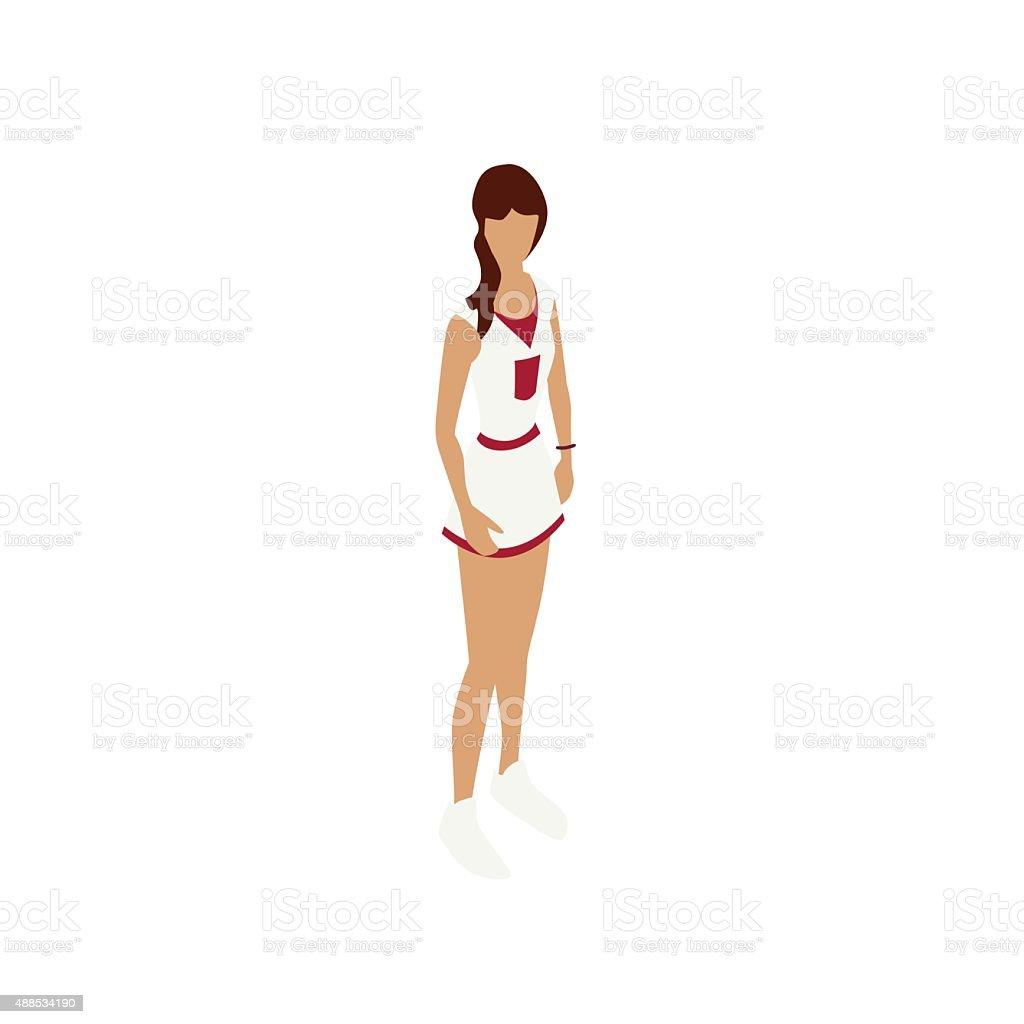 Cheerleader illustration vector art illustration