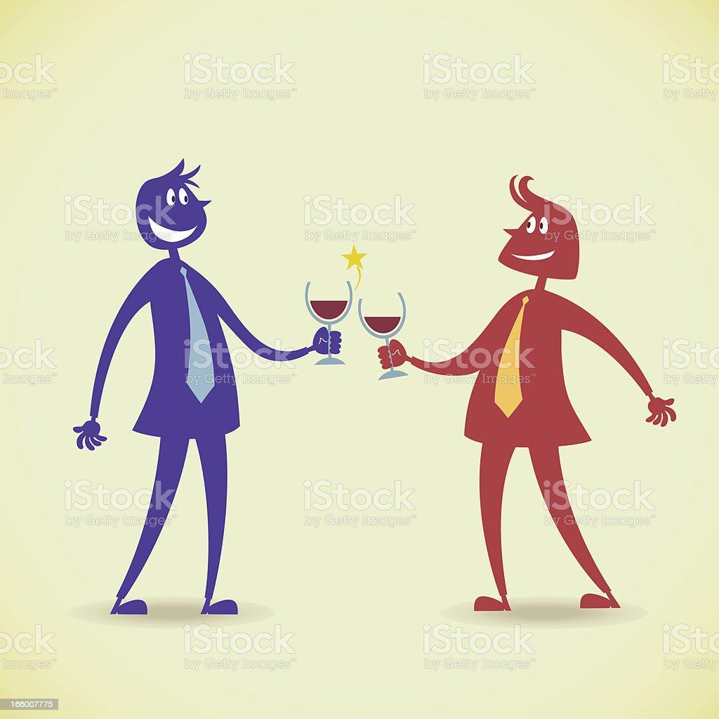 Cheers & Celebrations vector art illustration