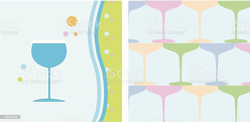 Cheers_Drinks vector art illustration