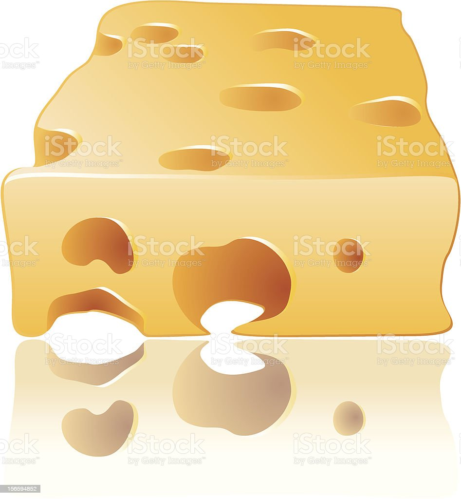 Cheese for the mouse vector royalty-free stock vector art