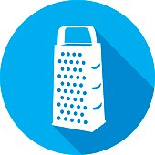 Cheese Grater Silhouette