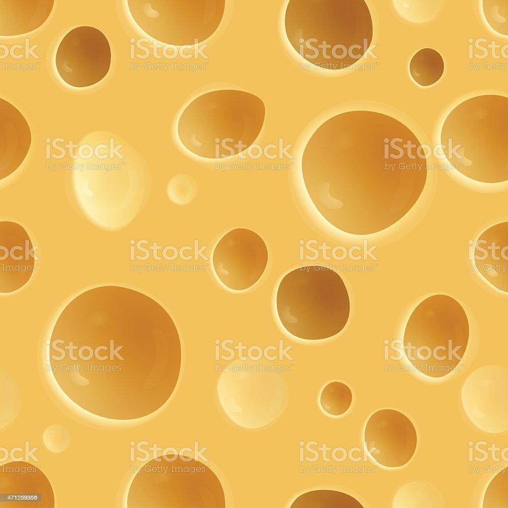 Cheese  pattern vector art illustration