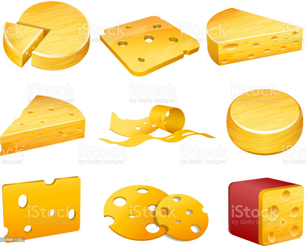 Cheese royalty-free stock vector art