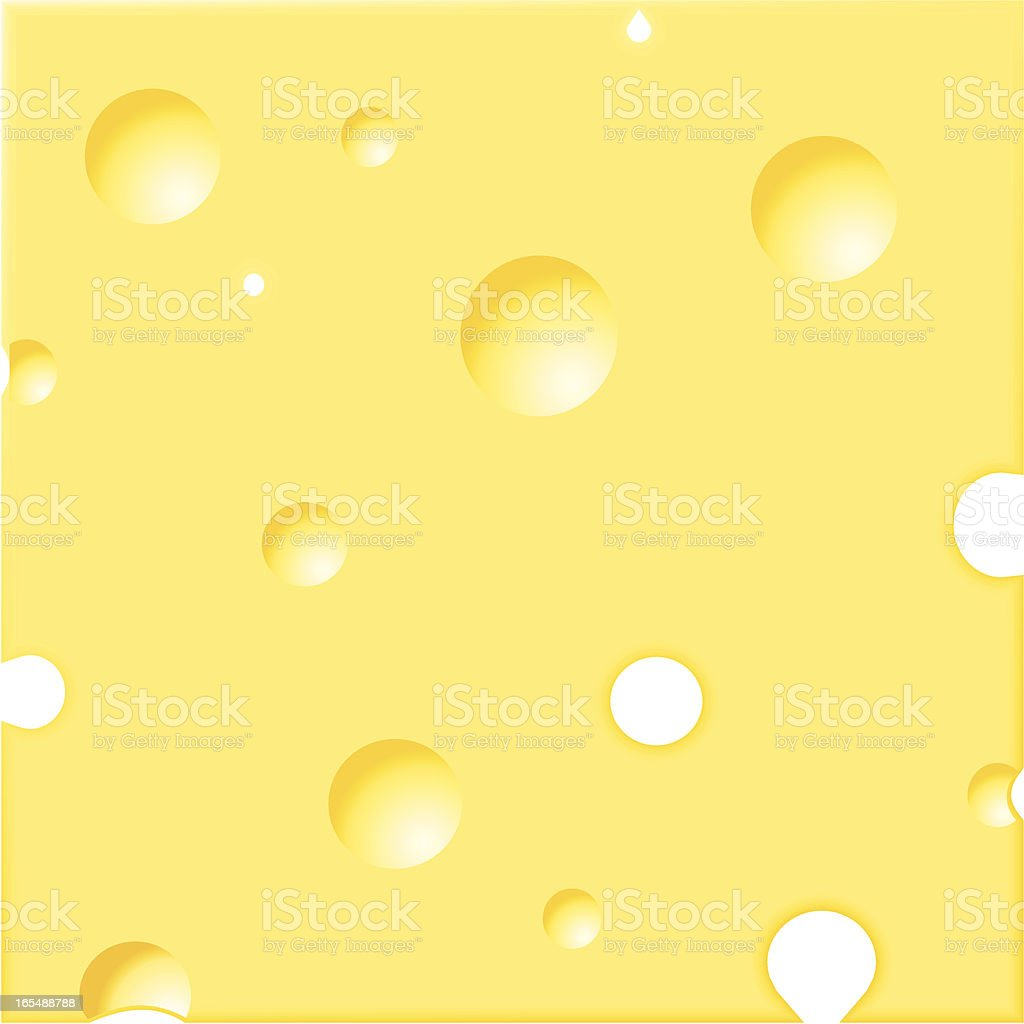 Cheesy background royalty-free stock vector art