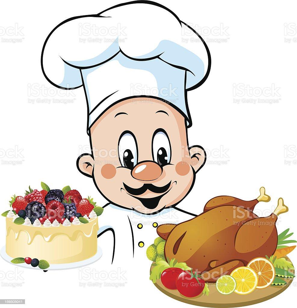 chef cartoon royalty-free stock vector art
