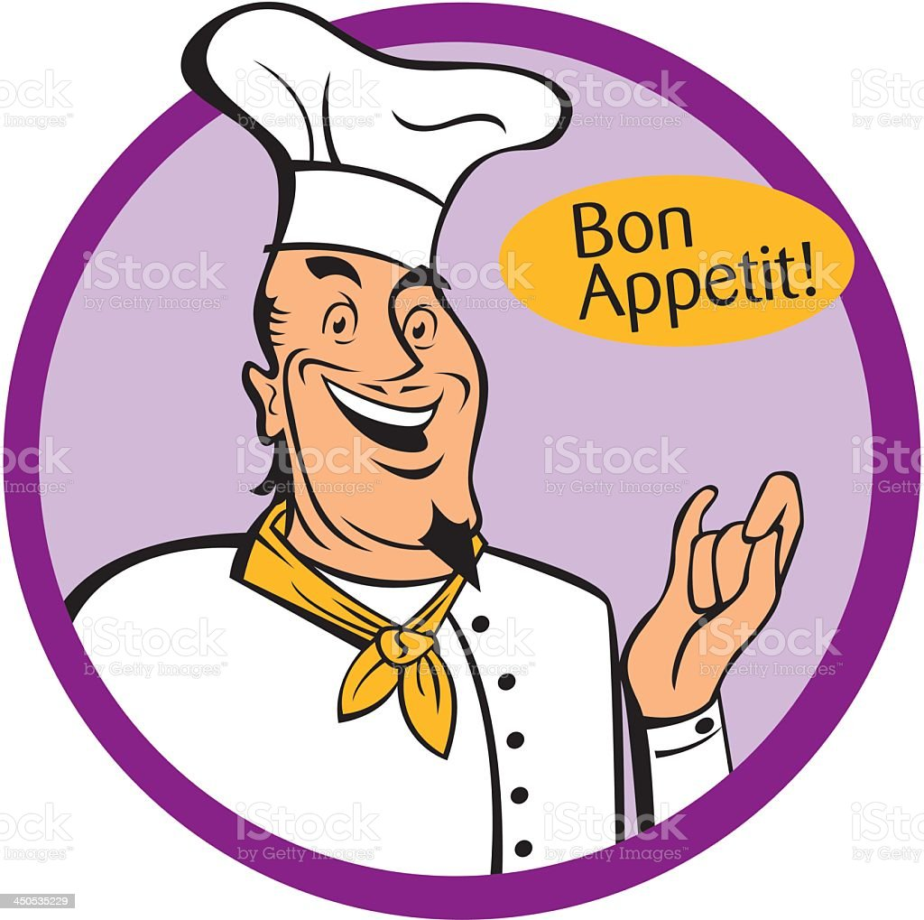 Chef Emblem royalty-free stock vector art