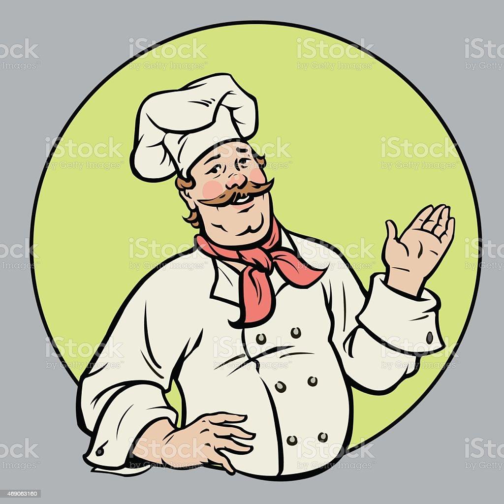 Chef - Illustration royalty-free stock vector art