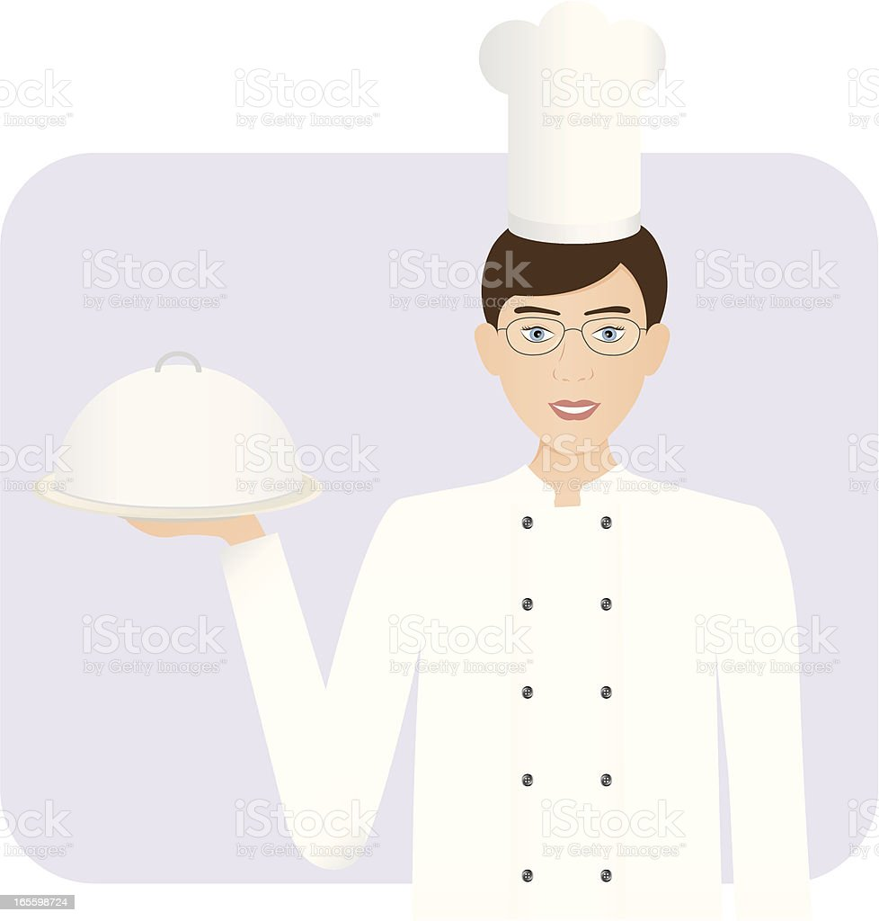 Chef royalty-free stock vector art