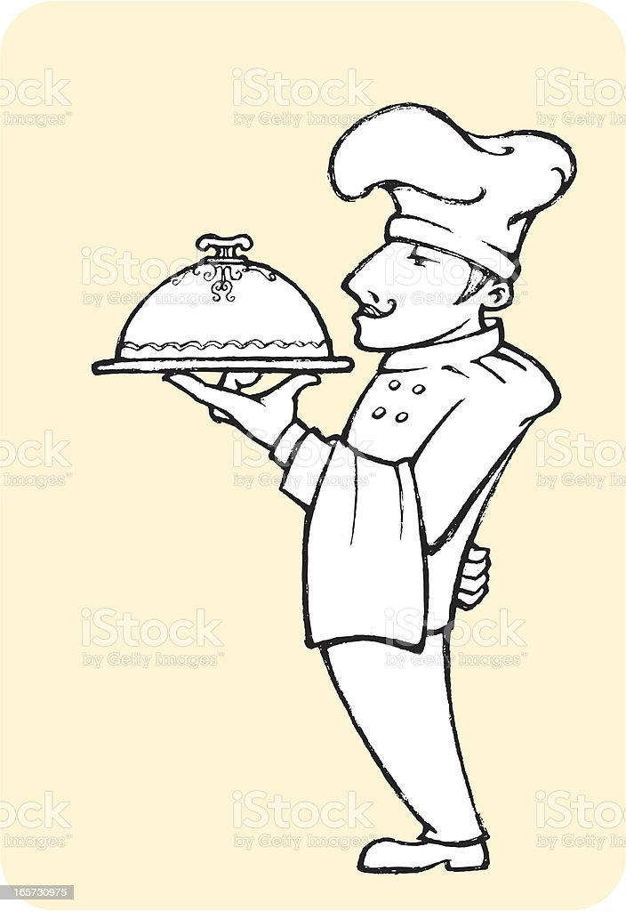 Chef's Best royalty-free stock vector art