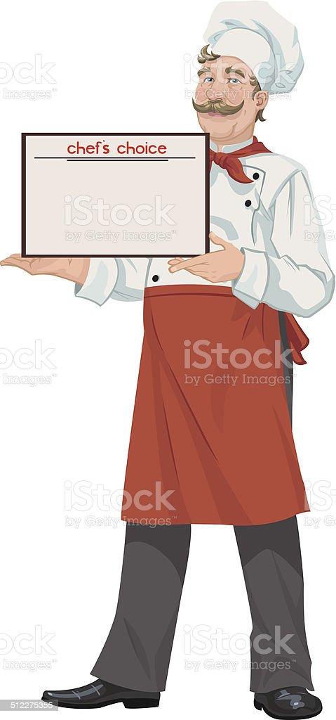chef's choice royalty-free stock vector art