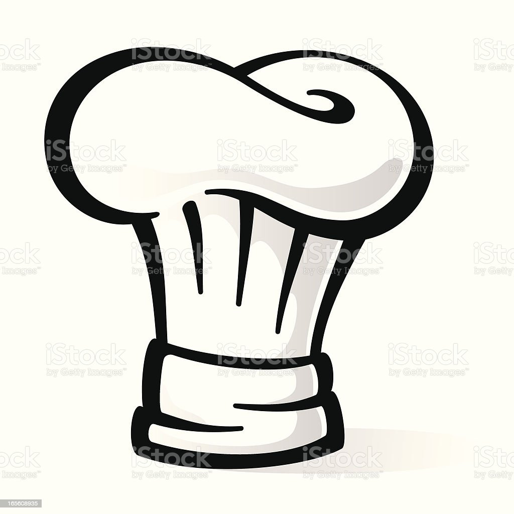 Chef?s Hat royalty-free stock vector art