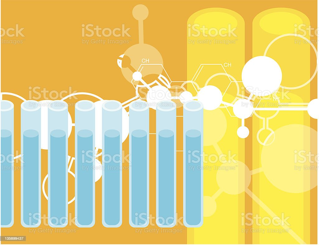 chemical royalty-free stock vector art