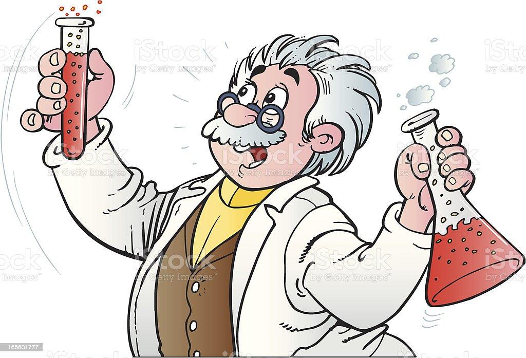 Chemist royalty-free stock vector art