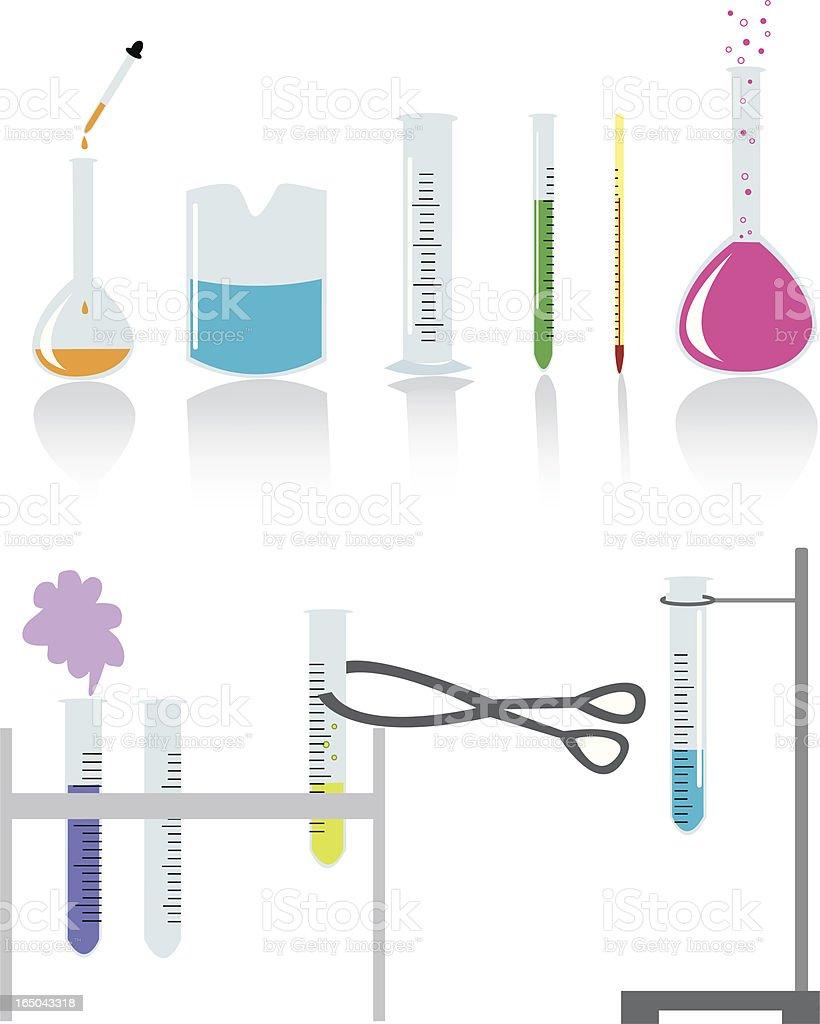Chemistry Set vector art illustration