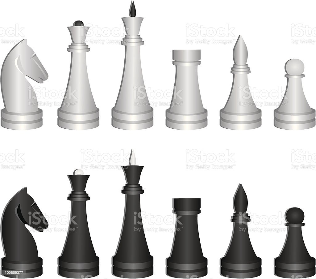 chess royalty-free stock vector art