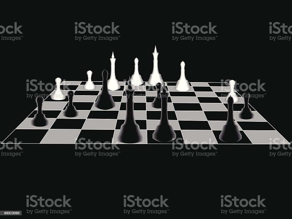Chess royalty-free stock vector art