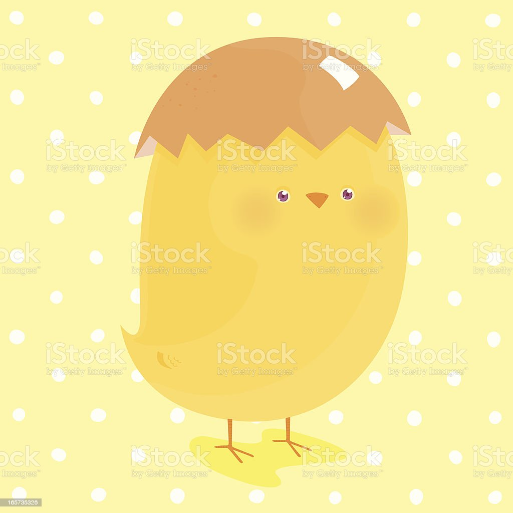 Chick royalty-free stock vector art