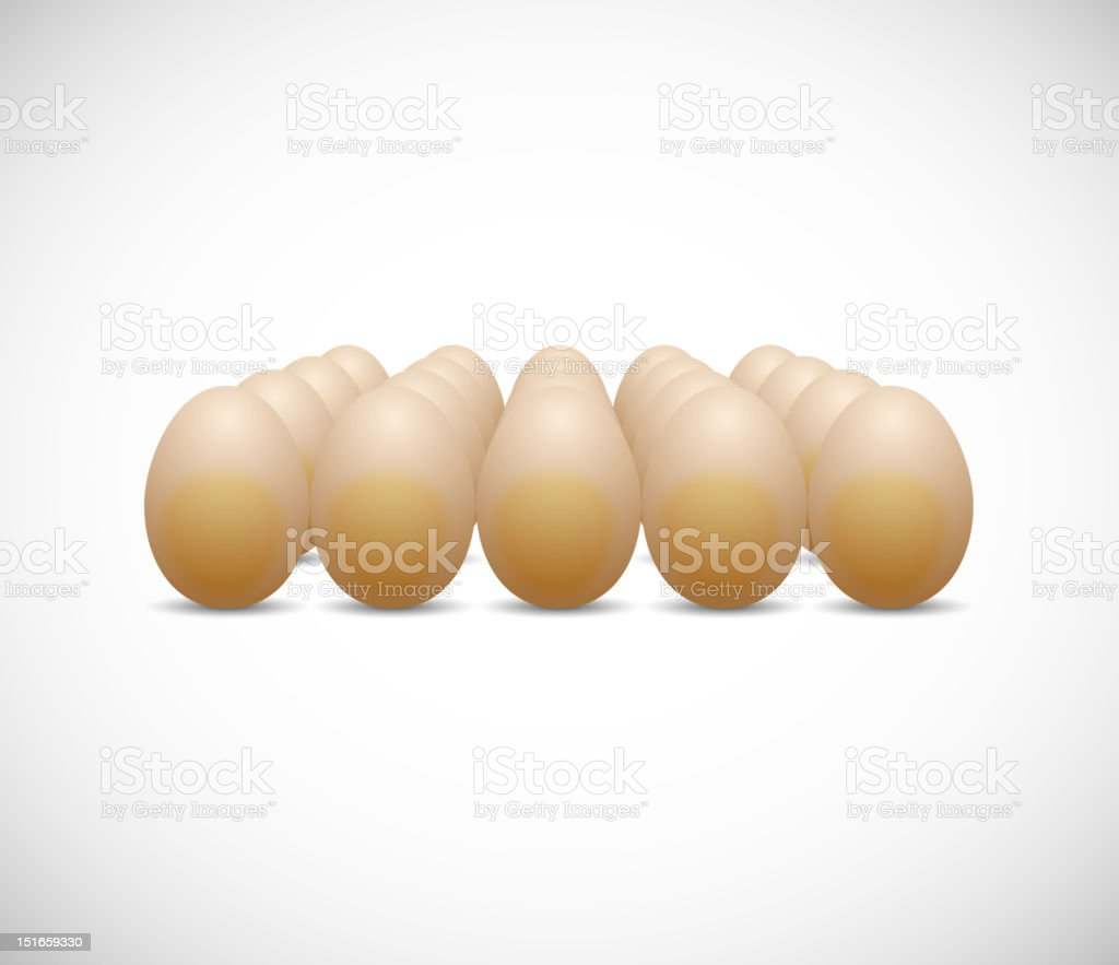 chicken egg royalty-free stock vector art