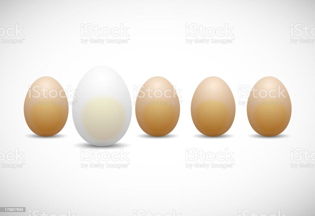 chicken egg royalty-free stock vector art