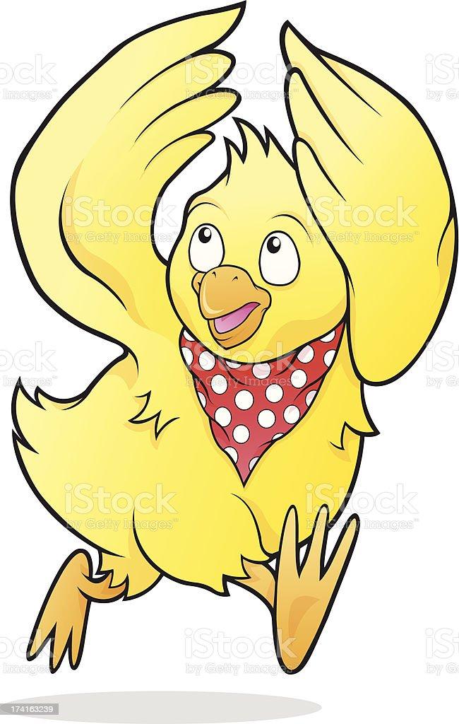 Chicken Licken royalty-free stock vector art