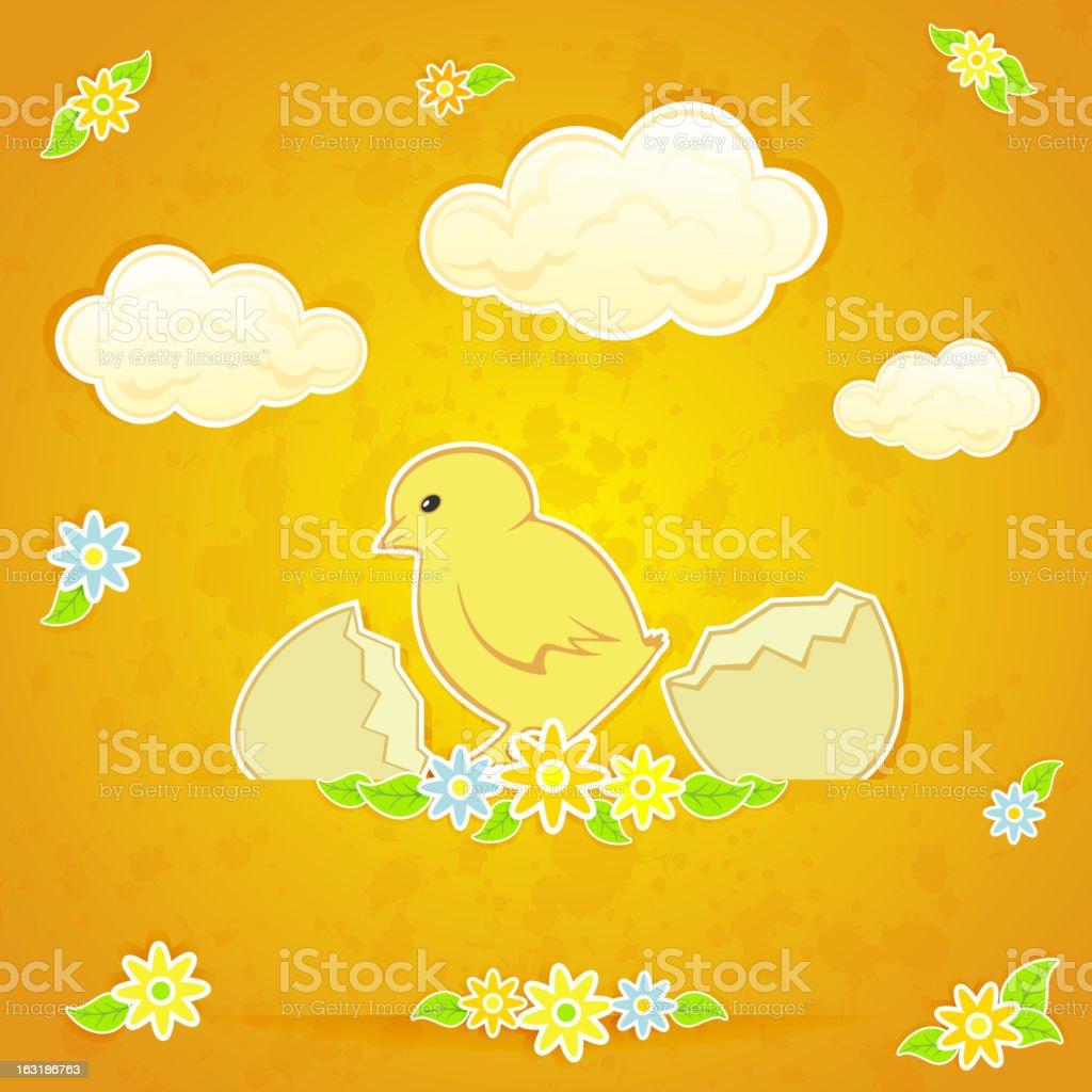 Chicken royalty-free stock vector art