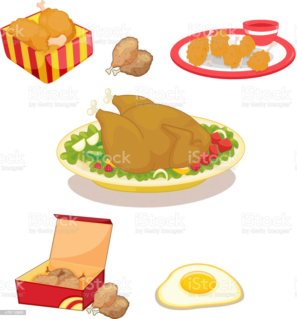 Chicken royalty-free stock vector art