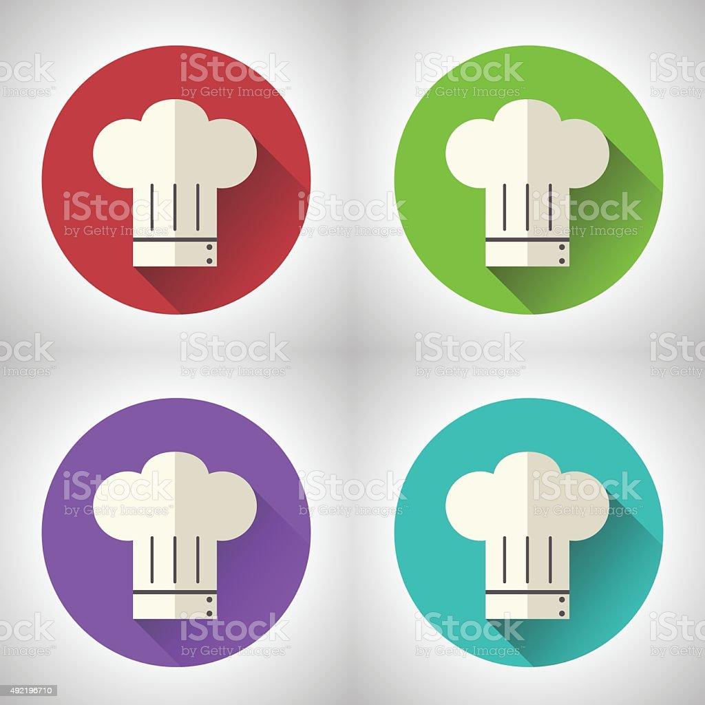 Chef kochen küche essen symbol hintergrund moderne lizenzfreies vektor illustration
