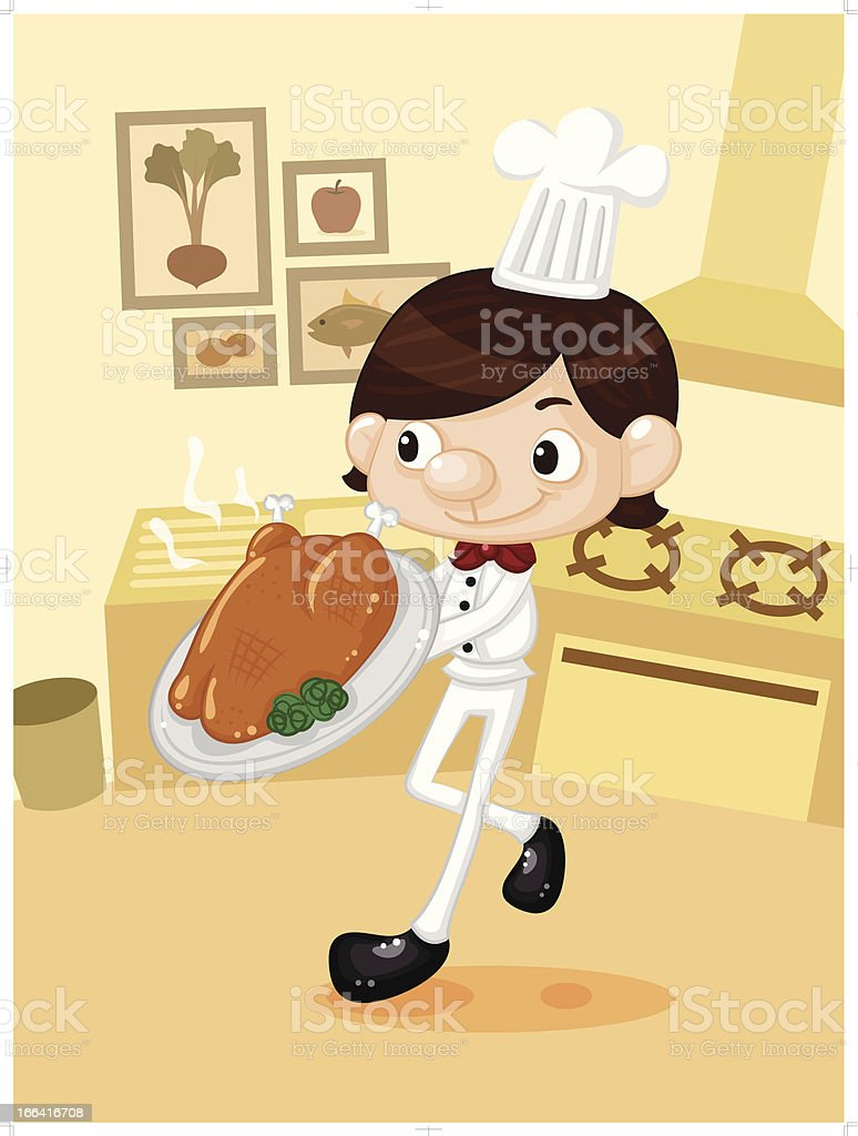Chef royalty-free stock vector art