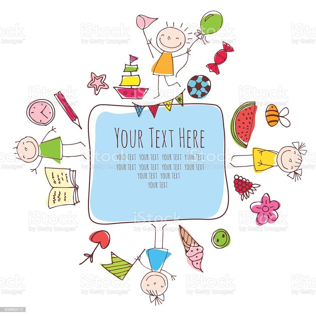 children, ice cream, candy royalty-free stock vector art