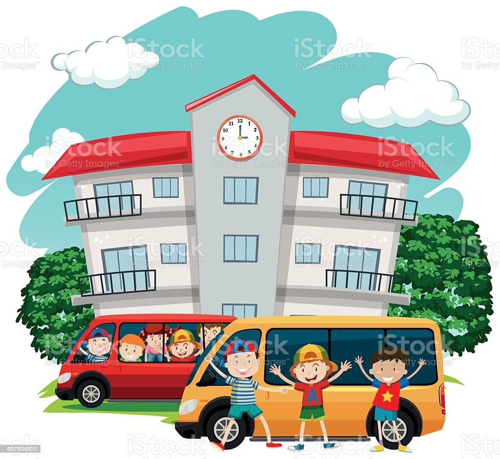 Image result for school car riders clip art