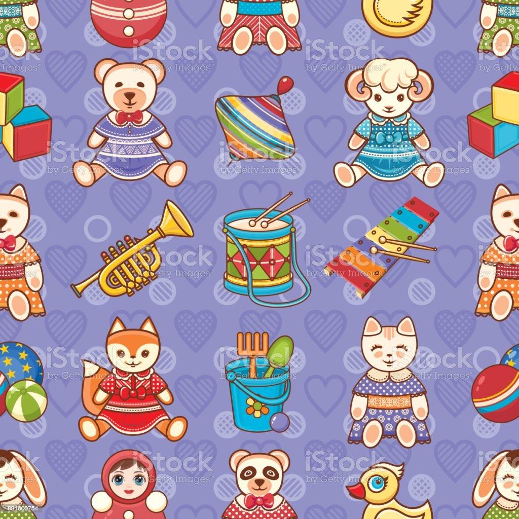 Children's toy. Animals. vector art illustration