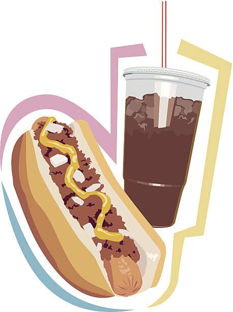 free chili dog clipart - photo #47