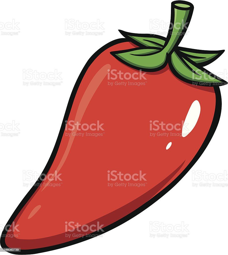 Chili Pepper royalty-free stock vector art