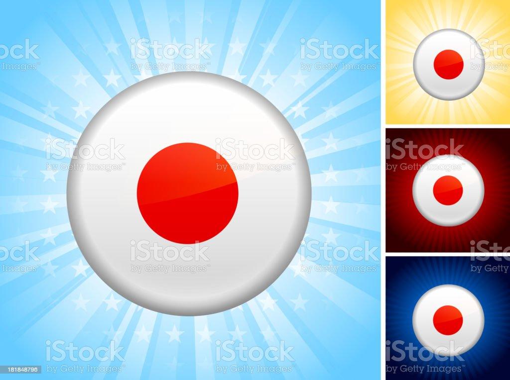 China Flag royalty free vector art Button Set royalty-free stock vector art